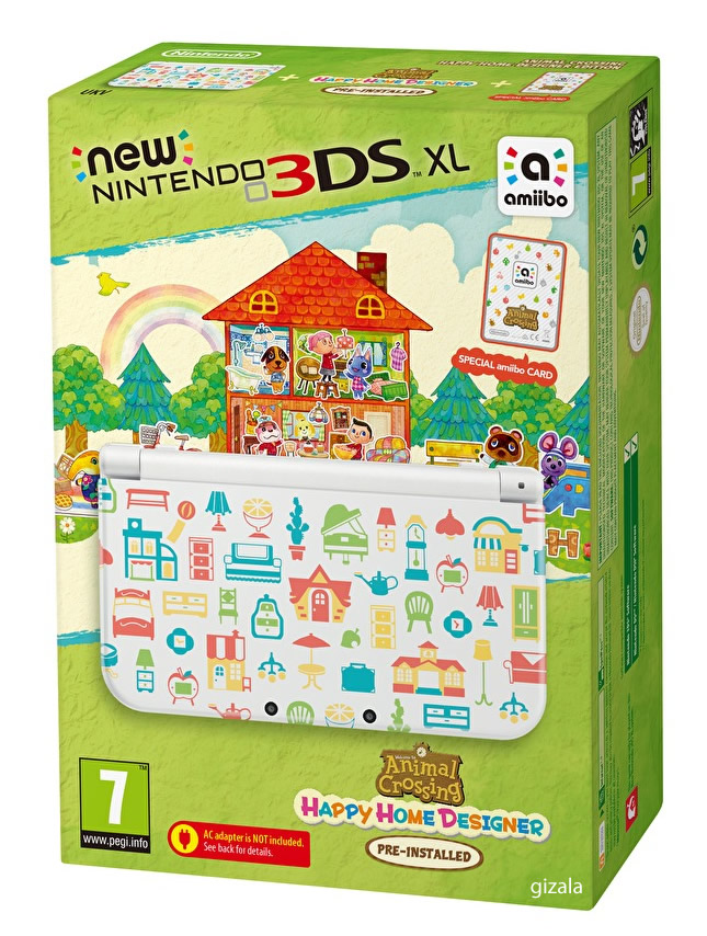 nintendo new 3ds xl animal crossing edition 1 tl kdv. Black Bedroom Furniture Sets. Home Design Ideas